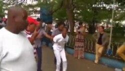 Detenciones en La Habana en el día de los Derechod Humanos