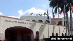El Centro Internacional de Salud La Pradera, en la Calle 230 entre 15 A y 17, Siboney, Ciudad de La Habana, Cuba.