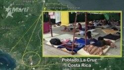 Cubanos en el poblado La Cruz, Costa Rica
