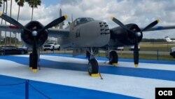 B26, una de las naves al servicio de la Fuerza Aérea de Liberación de la Brigada 2506.