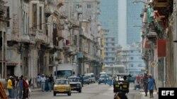 Vista del viejo y populoso barrio de Centro Habana