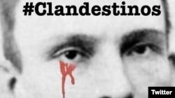 """Imagen de José Martí con la que Clandestinos llama a """"empapelar las calles"""" de Cuba. (Tomada de @clandestinoscdp)"""