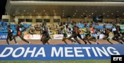 La Liga de Diamante en Doha (Catar).