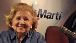 Homenaje a Hilda Álvarez, en Con Voz Propia, Radio Martí