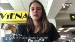 """""""Me prohíben regresar a Cuba"""" denuncia periodista cubana"""