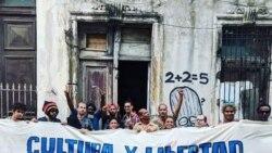 Se llevan detenidos a los miembros del Movimiento San Isidro