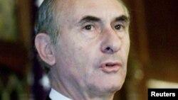 El expresidente argentino Fernado de la Rúa en una imagen de archivo.