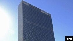 Piden liberación de presos políticos frente a sede de Naciones Unidas