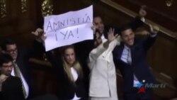 Asamblea Nacional venezolana recibe proyecto de ley de Amnistía