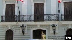 El Departamento de Estado de Puerto Rico.