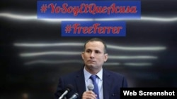 Póster en redes sociales para exigir la libertad de José Daniel Ferrer