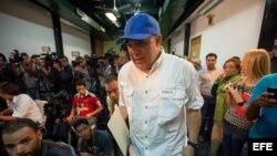 El periodista Jesús Torrealba es el nuevo secretario ejecutivo de la plataforma opositora Mesa de la Unidad Democrática (MUD).
