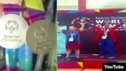 Reporta Cuba. Yirlenis Aguilera residente en Río Cauto ganó medallas de oro y plata en Juegos Mundiales de Verano de la Olimpíadas Especiales 2015.