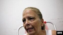 Foto de archivo de la disidente y expresa política cubana Martha Beatriz Roque Cabello.