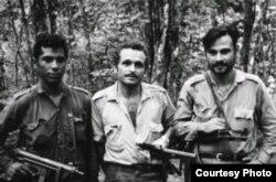 Guerillas comunistas en Venezuela.