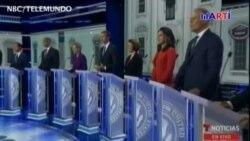 En el primer debate se discutió sobre la economía, salud y emigración