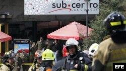 Atentado terrorista en Centro Comercial de Santiago de Chile