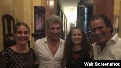 Bon Jovi en el paladar La Guarida, en La Habana, Cuba. (Facebook)