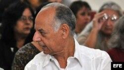 El ministro de Cultura de Cuba, Rafael Bernal.