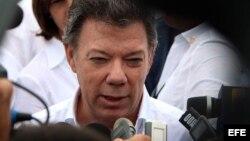 Juan Manuel Santos dijo que muchos países piensan que otra Cumbre de las Américas sin Cuba no tendría sentido.