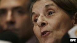 La doctora Hilda Molina puso en claro que el sistema de salud cubano hace rato que no es de primer nivel.