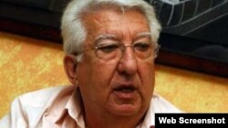 El exviceministro de Relaciones Exteriores de Venezuela, Fernando Gerbasi.