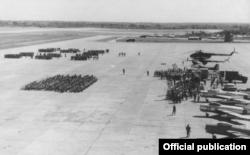 Así lucía la base aérea de San Antonio de los Baños en abril de 1963.