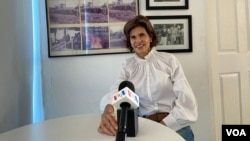 VOA interviews Cristiana Chamorro
