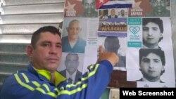 Por la libertad de los presos políticos Captura de pantalla You Tube Yoel Bravo
