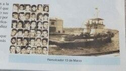 Se cumple 24 años del hundimiento del remolcador 13 de Marzo