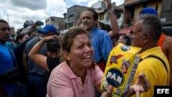 Cientos de personas protagonizaron nuevas protestas por alimentos en Caracas