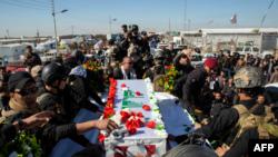 Funeral del general iraní Qasem Soleimani.