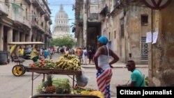 """Castro, Inc: """"una ínfima minoría clasificaría como empresario bajo los estándares de un país medianamente decente"""" (Foto Yusnaby)."""