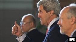 El secretario de Estado norteamericano John Kerry.