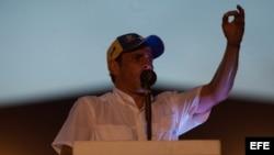 El ex candidato a la presidencia de Venezuela, Henrique Capriles Radonski. Foto de archivo