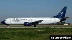 Con el regreso a Italia el pasado 29 de mayo de este B737-400 la empresa Blue Panorama puso fin, por atrasos en los pagos, a su contrato de arrendamiento con Cubana