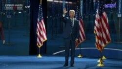 Joe Biden ofrecerá este jueves su discurso de aceptación