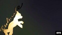 Imagen del oso de oro, logotipo de la Berlinale.