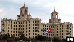 Vista del Hotel Nacional de Cuba.
