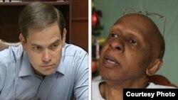 El senador cubanoamericano Marco Rubio habló telefónicamente con el opositor cubano en huelga de hambre Guillermo Fariñas.