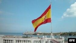 Azotea de la Embajada de España en La Habana. En 2013 se incrementó en 10.878 los residentes de esta nacionalidad en la isla.