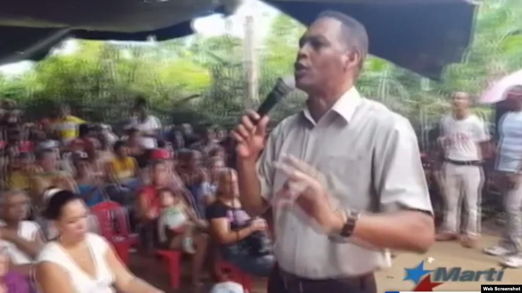 Pastor evangélico Alaín Toledano, Santiago de Cuba. (Archivo)