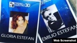 Gloria y Emilio Estefan fueron homenajeados en la 30 edición del Premio Lo Nuestro.