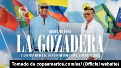 Gente de Zona en la Copa América 2021.
