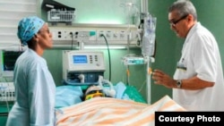 """Maylén Díaz Almaguer, sobreviviente de la catástrofe aérea del 18 de mayo, evoluciona """"con estabilidad"""", aseguran médicos del """"Calixto García""""."""