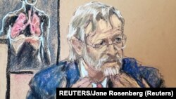 Neumólogo en caso Floyd testitifica ante el jurado. REUTERS/Jane Rosenberg.
