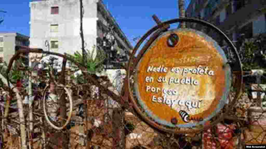 Barrio de Alamar, Habana del Este, Cuba.