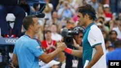 Federer venció a Kohlschreiber.