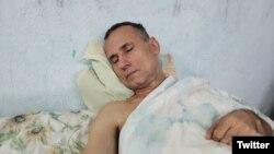 José Daniel Ferrer, a 12 días de huelga de hambre. (Twitter/@NelvaIsmarays)