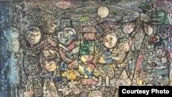 """Una averiguación de Ramón Cernuda, comprador de """"Carnaval Infantil"""", de Eduardo Abela, destapó el robo de 71 cuadros del Museo Nacional de Bellas Artes en Cuba."""